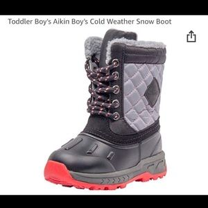 Carter's Boy's Aikin Snow Boot Sz 6